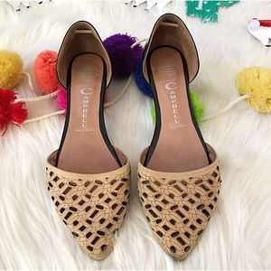 Jeffrey Campbell Laser Cut In love D'Orsay Flats